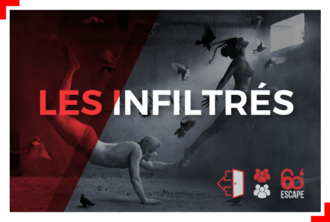 les infiltrés Escape Game Paris