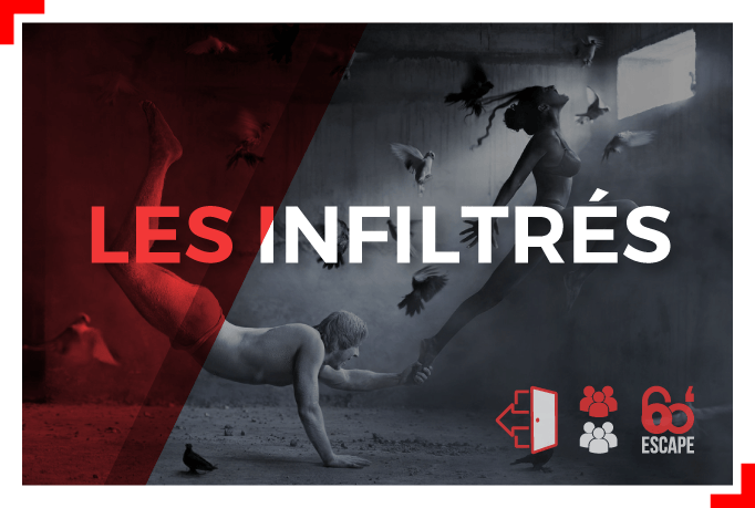 les infiltrés escape game 60