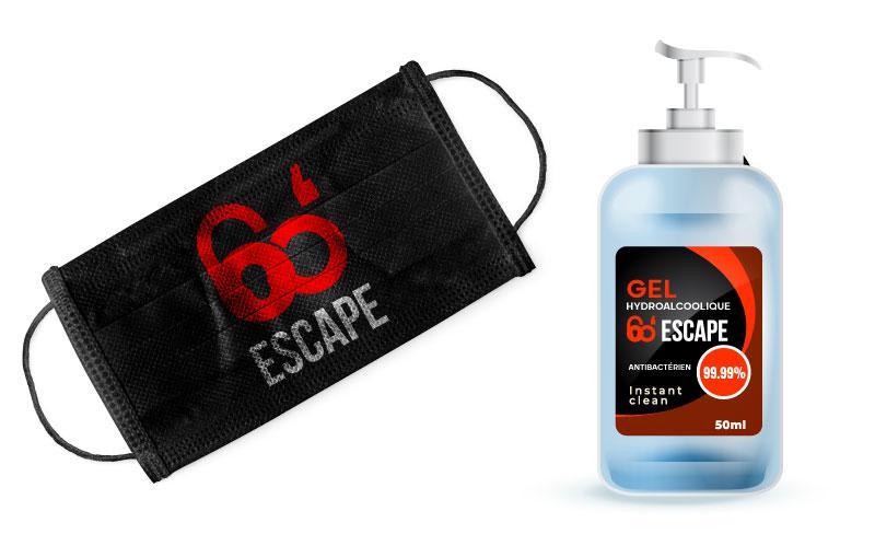 Escape game COVID19
